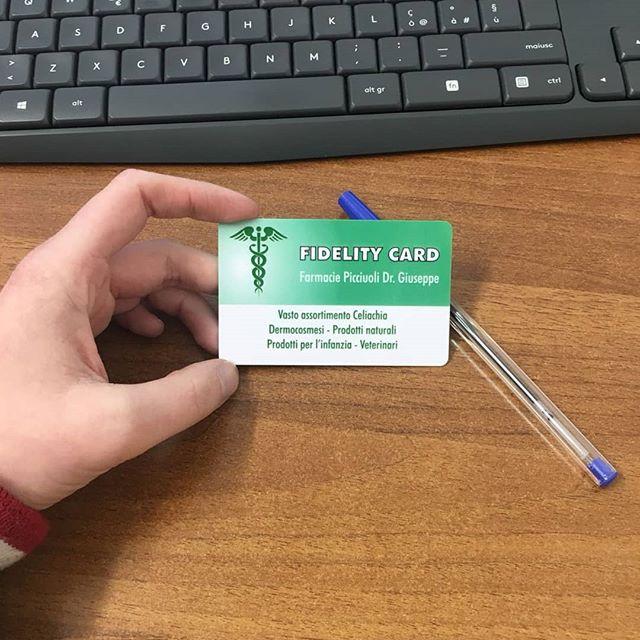 Fidelity card per farmacia personalizzata